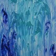 Blue Memories Art Print