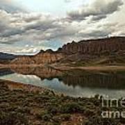 Blue Mesa Reservoir Art Print