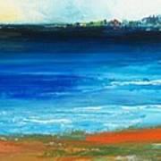 Blue Mist Over Nantucket Island Art Print