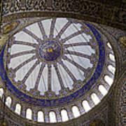 Blue Mosque Dome Art Print