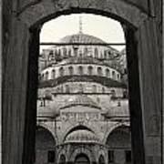 Blue Mosque Entrance Art Print