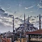 Blue Mosque In Istanbul Art Print