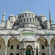 Blue Mosque In Istanbul Turkey Art Print