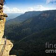 Blue Mountains Walkway Art Print