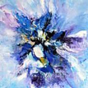 Blue Mystery Art Print