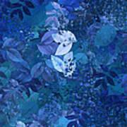 Blue - Natural Abstract Series Art Print