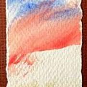 Blue Paint Art Print