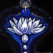 Blue Pearl Art Print by Lorah Buchanan