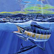 Blue Pitcher Off00115 Art Print