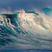 Blue Power. Indian Ocean Art Print