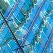 Blue Reflection 3 Art Print