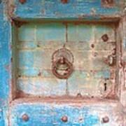 Blue Relic Art Print