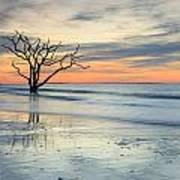 Blue Reverence Charleston Sc Ocean Sunrise Art Print