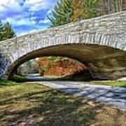 Blue Ridge Bridge Art Print by Bob Jackson