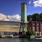 Blue Ridge Dam Art Print