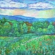 Blue Ridge Meadow Art Print