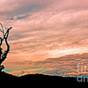 Blue Ridge Mountain Sunrise Panoramic  Art Print