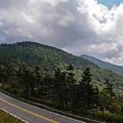 Blue Ridge Mountains And Blue Ridge Parkway Art Print