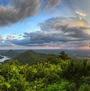Blue Ridge Mountains Panorama Art Print