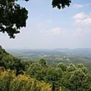 Blue Ridge Parkway Scenic View Art Print