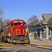 Blue Ridge Scenic Railway Art Print