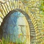Blue Ridge Tunnel Art Print