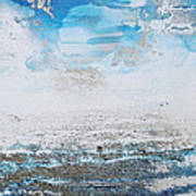 Blue Shore Rhythms And Texturesii Art Print