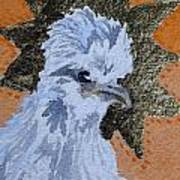 Blue Silky Nugget Art Print