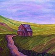 Blue Skies In The Hill Country Art Print