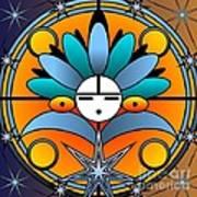 Blue Star Kachina 2012 Art Print