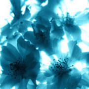 Blue Sunlight Fusion Art Print