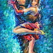 Blue Tango 1 Art Print