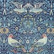 Blue Tapestry Art Print by William Morris