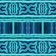 Blue Teal Dreams Art Print