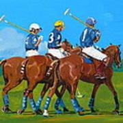 Blue Team Art Print