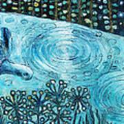 Blue Turtles Art Print