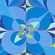 Blue Unity Art Print