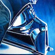 Blue Vader Art Print