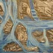 Blue Water Dancing  Art Print