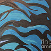 Blue Waves Of Healing Art Print