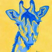 Bluebelle Art Print