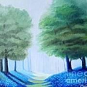 Bluebells Art Print by Carola Ann-Margret Forsberg