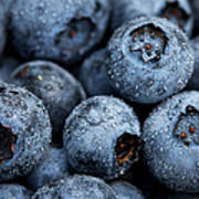 Blueberries Fruits Art Print