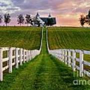 Bluegrass Farm Art Print