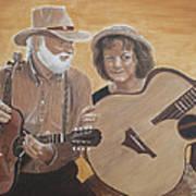 Bluegrass Music Art Print