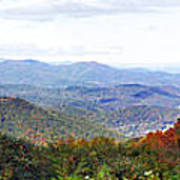 Blueridge Parkway View 2 At Mm 404  Art Print