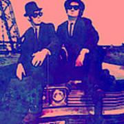 Blues Brothers 2 Art Print