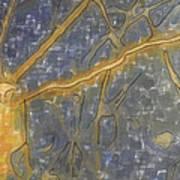 Blues Composition Art Print