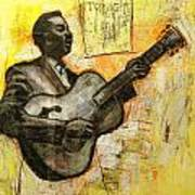 Blues Tonight Art Print