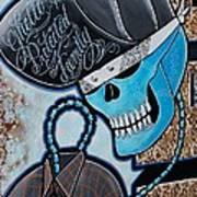 Blueskully Art Print